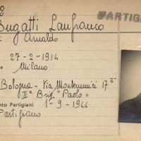 La tessera Anpi di Lanfranco Bugatti