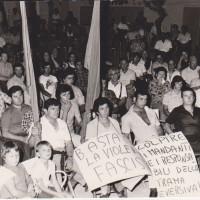 Manifestazione antifascista Porto Fuori, anni 70