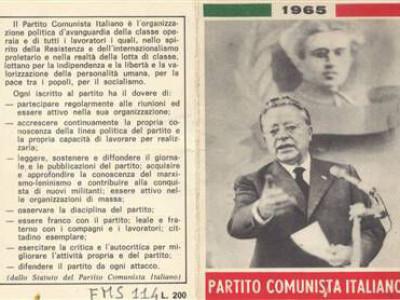 Federazione provinciale del Pci - Via Barberia 4, Bologna