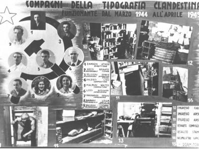 Tipografia clandestina, via Cavour 58, Modena