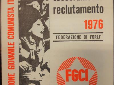 Federazione giovanile comunista italiana – FGCI di Forlì