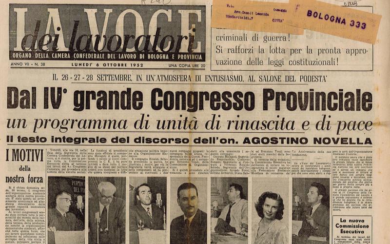 Camera del lavoro, via Marconi 67 – Scontri dopo l'attentato a Togliatti