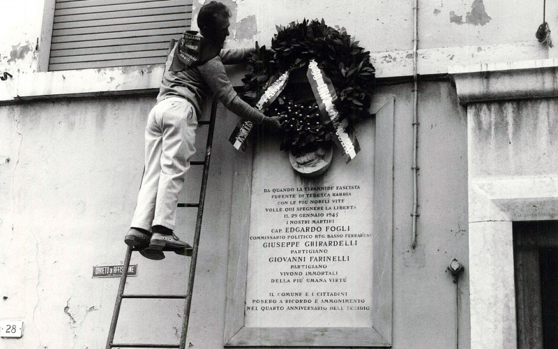 Comacchio, Casa di nascita di Edgardo Fogli