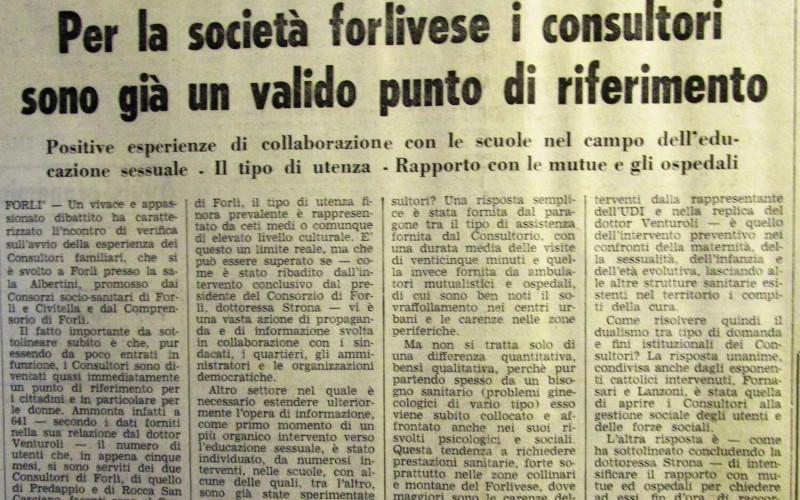 Consultorio di via Bolognesi, Forlì