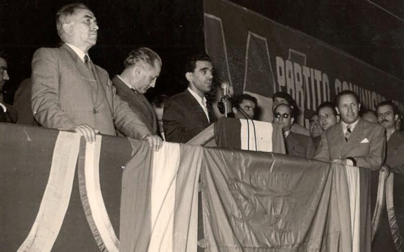 Piazza Garibaldi, discorso di Longo