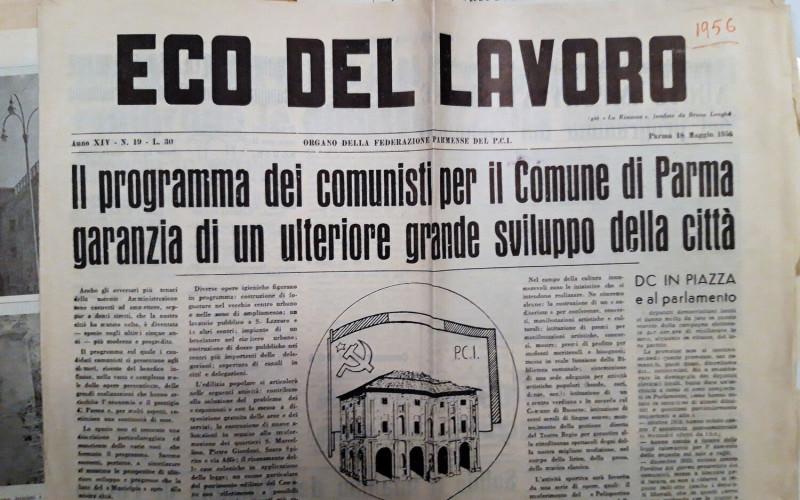 Partito comunista italiano – PCI.  Federazione provinciale di Parma